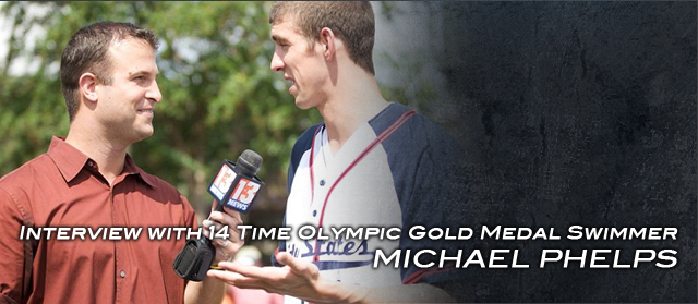 David Baumann - Interview with Michael Phelps